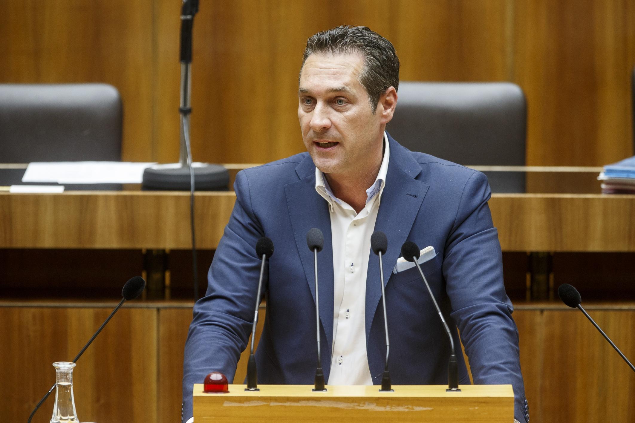 """Strache: Habe keinen Kontakt mit """"Neo-Nazis"""
